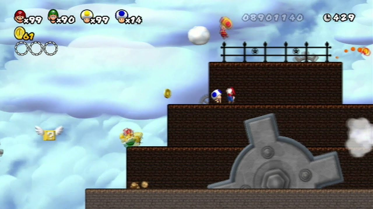 how to get newer super mario bros wii
