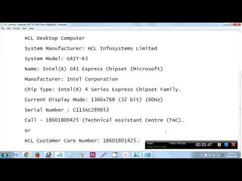 hcl laptop camera driver for windows 7 32 bit