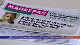 Yvelines | Lancement de campagne de la liste Maurepas Dynamique et solidaire