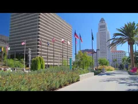 A Walk Around Civic Center District, Downtown Los Angeles
