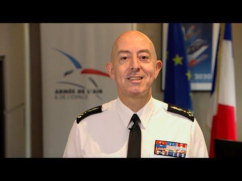 Voeux du général darmée aérienne Lavigne, chef détat-major de larmée de lAir et de lEspace