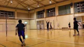 第84回 KUROバレーボール スパイク練習動画 Japanese volleyball team KURO no.84