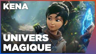 KENA : Inspirations entre Ghibli et Pixar   Gameplay PS5 60 FPS