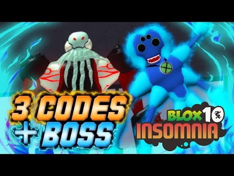 [3 CODES] New Spider Monkey + Vilgax Boss Quest in Blox 10: Insomnia! | Roblox
