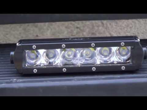 Mictuning Mini Led Light Bar Vs Black Oak Led Youtube