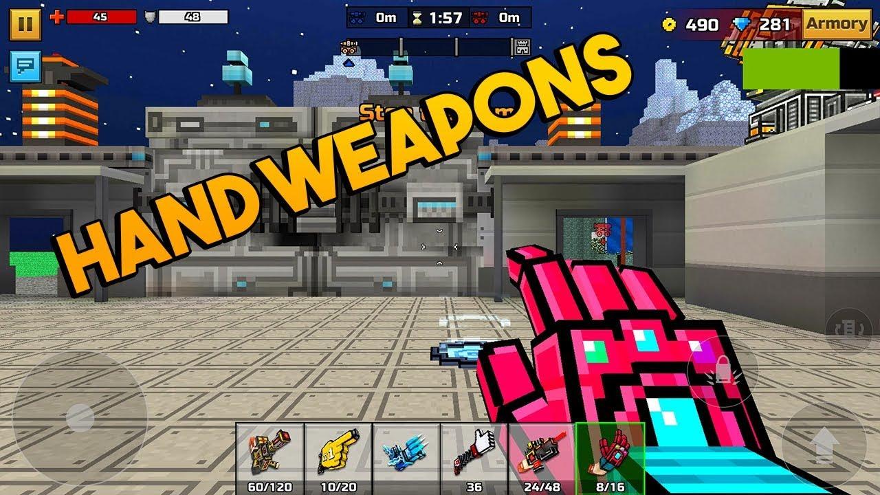 minecraft pixel gun 3d game online