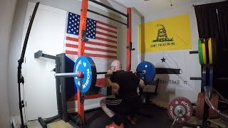 1-17-2019 Jason Blaha Training - Close Grip Bench Press, Squat & Press