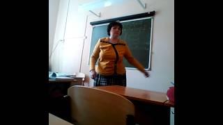 Учительница  немецкого потеряла голову)
