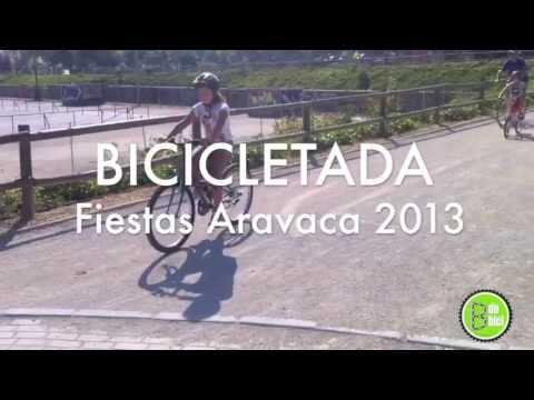 Bicicletada Fiestas Aravaca 2013 - BdeBici