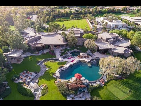 Sprawling $30 Million 17,000 SQ FT 6 Bed 9 Bath Home on 2 Acres in California USA