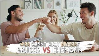 Wer kennt mich besser? Bruder VS Ehemann 🤣 | AnaJohnson