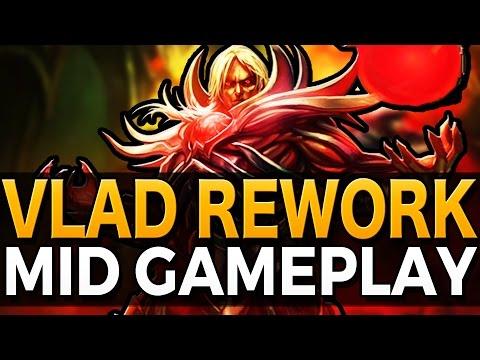 VLADIMIR REWORK MID GAMEPLAY - League of Legends