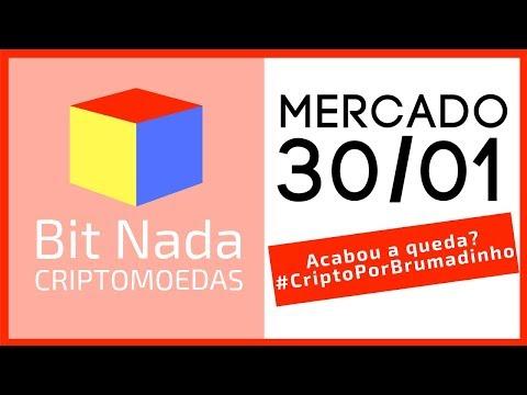 Mercado de Cripto! 30/01 Acabou a queda?/ BTC / BNB / Bittrex / #CriptoPorBrumadinho