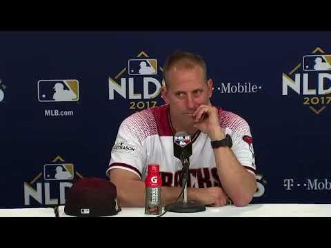 Torey Luvollo Postgame Interview   Dodgers vs Diamondbacks Game 3 NLDS