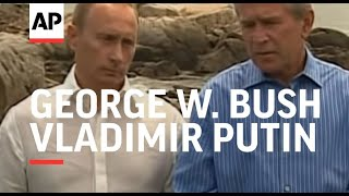 News conference with Bush and Putin
