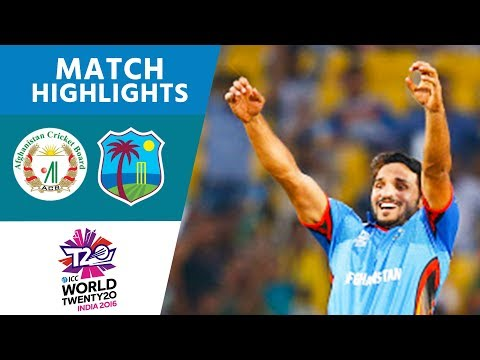 ICC WT20 Afghanistan vs West Indies Match Highlights