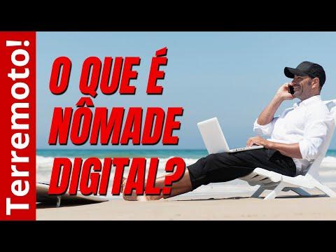Viajante perpétuo/nômade digital