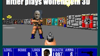 Hitler plays Wolfenstein 3D