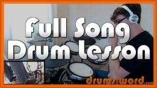★ Walk (Foo Fighters) ★ Drum Lesson PREVIEW | How to Play Song (Taylor Hawkins & Dave Grohl)