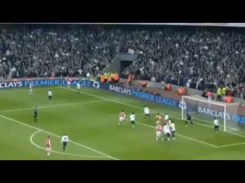 Lord Nicklas Bendtner - Fastest Goal By A Substitute In English Football, Arsenal Vs Spurs,22-12-07.