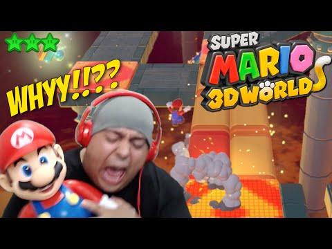 TOP 5 HARDEST SUPER MARIO 3D WORLD LEVELS [F#%K!]