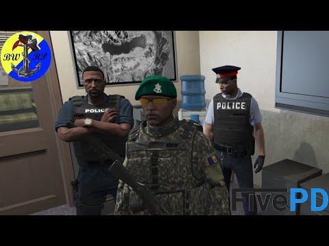 GTA V BARBADOS PATROL 🇧🇧 || FivePD || EP. 1 || Police, Task