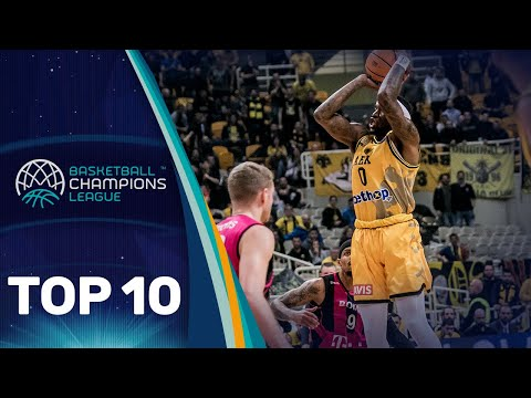 Top 10 Plays w/ Nick Johnson, Kendrick Ray & Co. | Round of 16 | Basketball Champions League 2019-20