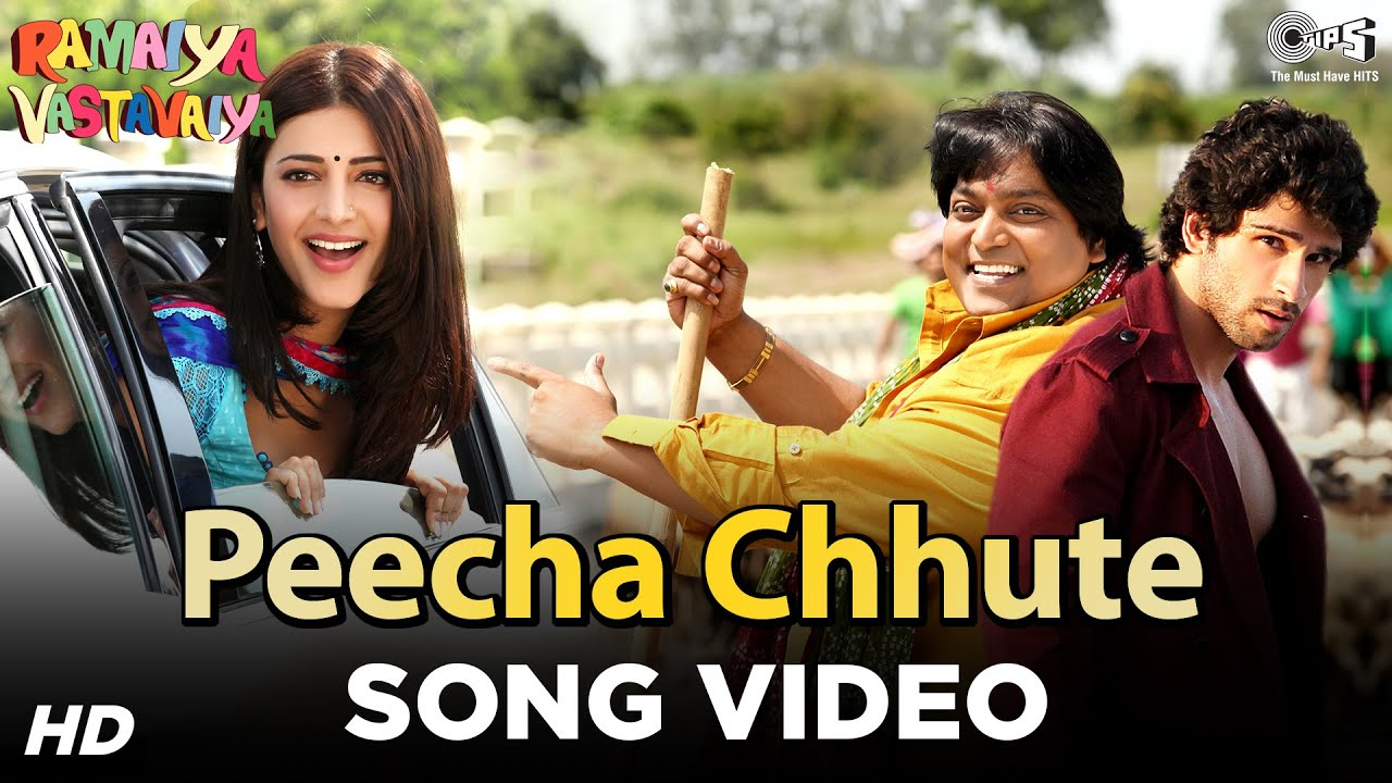 Download Peecha Chhute - Ramaiya Vastavaiya   Girish Kumar & Shruti Haasan   Mohit Chauhan