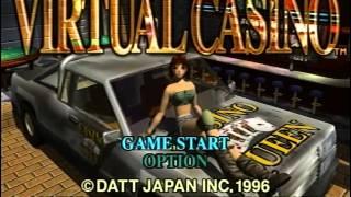 Virtual Casino Sega Saturn Gameplay