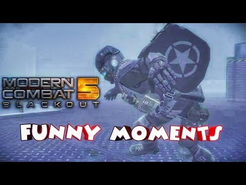 Modern Combat 5 BEST 'FUNNY MOMENTS' (Trolling Noobs, Epic Kills, Diss track) | Best of KB Gamer |