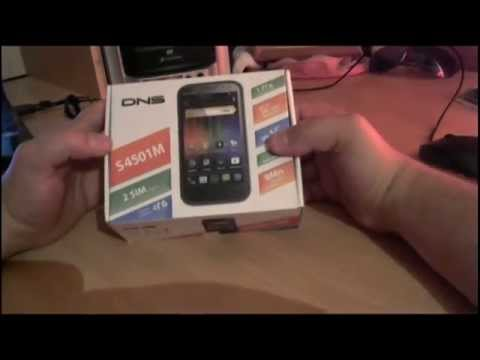 Обзор смартфона DNS-S4501M