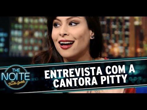 The Noite 081014 - Entrevista com a cantora Pitty