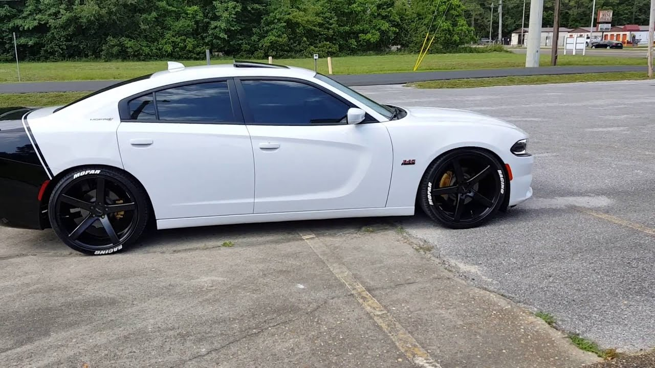 2015 Dodge Charger Rt Lowered On 22 S Youtube