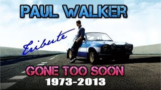 Paul Walker Tribute Video - I