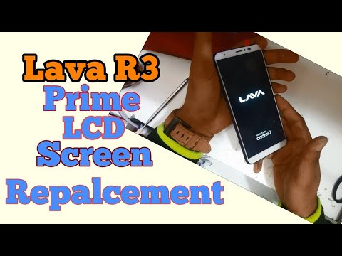 Lava R3 R3 Prime LCD Screen Replacement..