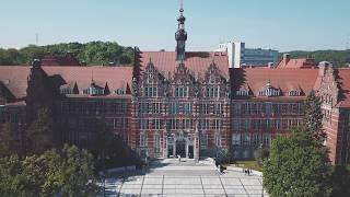 Politechnika Gdańska z lotu ptaka