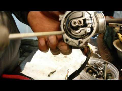 как промыть карбюратор скутера honda lead