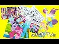 My Little Pony Movie 2017 Activity Tote with Activity book Coloring pages Stickers and Magnetic
