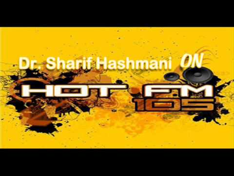 Dr  Sharif Hashmani on hot fm 105