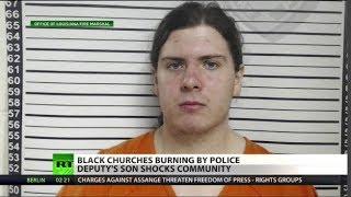 Cop's son torches churches, media blames black metal