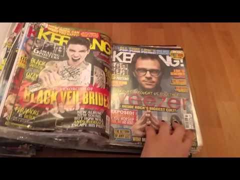 All My Kerrang and Rocksound Magazines!