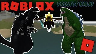 Roblox Project Kaiju - Kaiju Battle Royale! (Destroying 2 Godzillas)