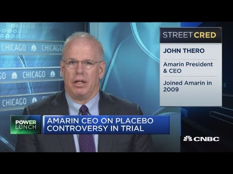 Amarin CEO comments on its new medicine's mixed results in its drug trial