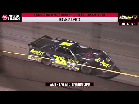 DIRTVISION REPLAYS | Volusia Speedway Park February 13th, 2020