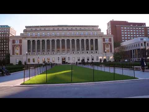 Le campus de l'université Columbia, en plein coeur de Manhattan