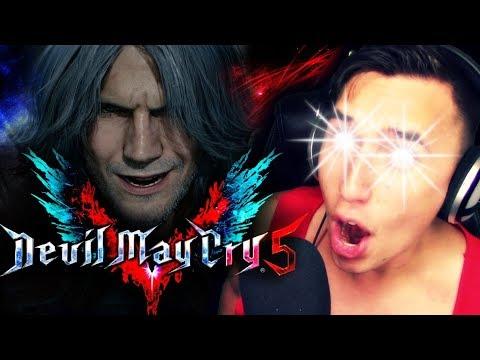 OLD MAN DANTE!!?!|  [#E3] Devil May Cry V REVEAL Trailer REACTION!!