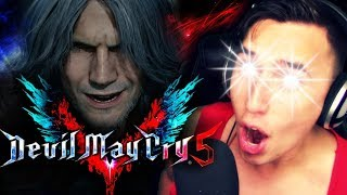 OLD MAN DANTE!!?!|  [#E3] Devil May Cry V REVEAL Trailer REACTION!!