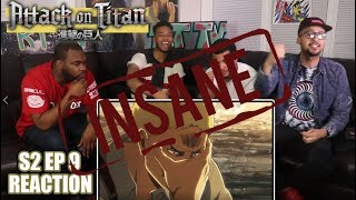 REINERS INSANE! ATTACK ON TITAN 2X9 REACTION/REVIEW