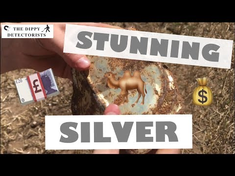 EGYPTIAN SILVER PLATE FOUND METAL DETECTING IN NORFOLK