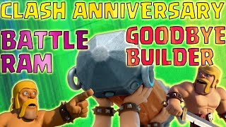 New Battle Ram is here | Clash anniversary update 2017 | clash of clans